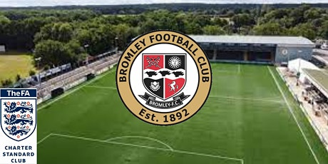 U12s  Bromley FC  Youth Trials for  2021/2022 season. tickets