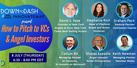 How To Pitch To VCs and Angel Investors tickets