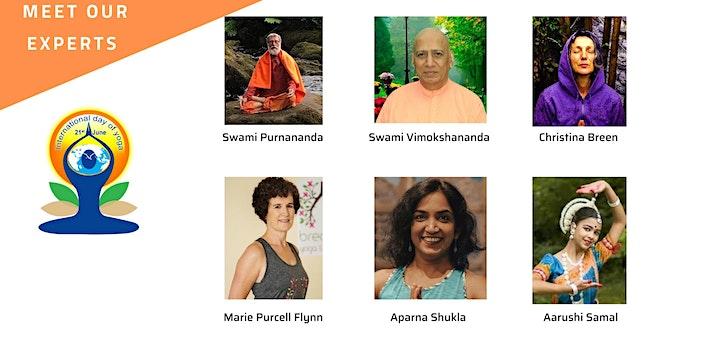 Meath International Yoga Day  (Virtual Retreat) image
