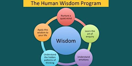 The Human Wisdom Project - Discover wisdom/Coaching & affiliate program tickets