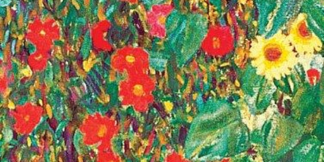 Red Flower Garden, Acrylic Painting Class,  All ages  & levels are welcome tickets