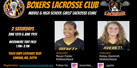 Boxers Lacrosse Club Clinic - Middle & High School Girls tickets