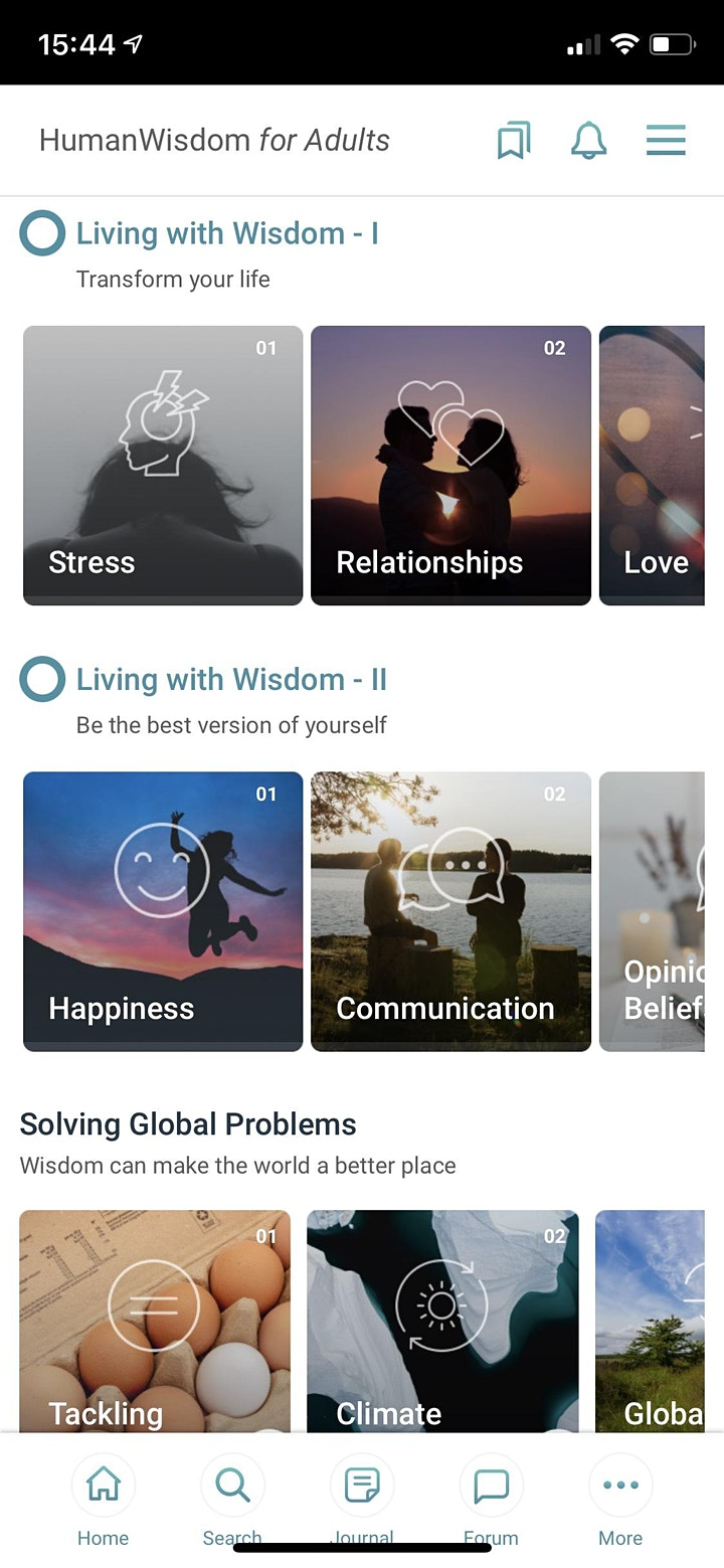 The Human Wisdom Project - Discover wisdom/Coaching & affiliate program image