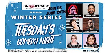 SnortCast Comedy with PB's Bar St Kilda tickets