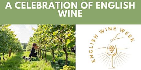 Celebration of English wines - online tasting Tickets