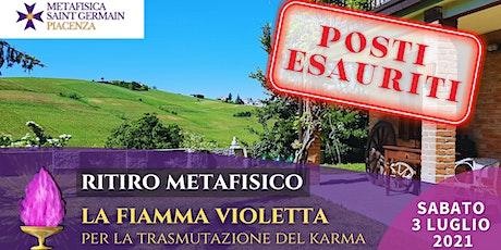 Ritiro metafisico: La Fiamma Violetta per la trasmutazione del karma biglietti
