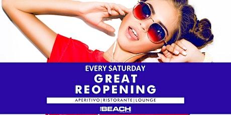 THE BEACH CLUB SABATO | Aperitivo/cene/serata +393382724181 biglietti