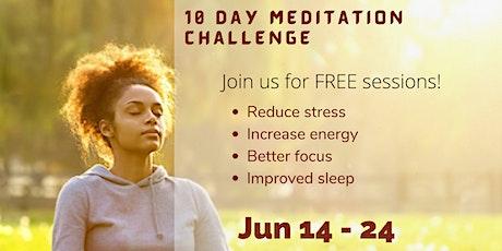 Meditation Challenge tickets