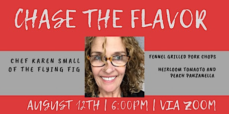 Chase the Flavor with Karen Small tickets