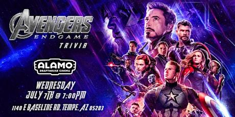Avengers:Endgame Trivia at Alamo Drafthouse Tempe tickets