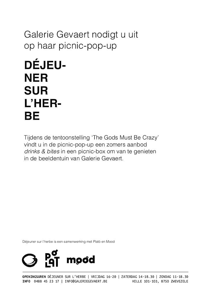 Guy Du Cheyne | The Gods Must Be Crazy image