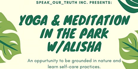 Yoga & Meditation in the park tickets