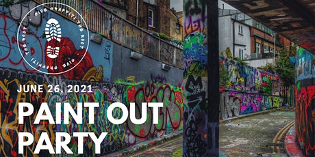 Volunteer for Give Graffiti the Boot Paint Party tickets