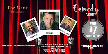 Live Comedy Thursdays @ Gaur Club on Thursday, 17th June, 2021 tickets