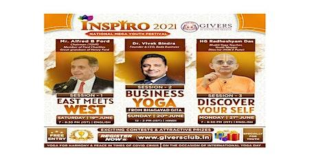"""Business Yoga From  Bhagavad Gita"" tickets"