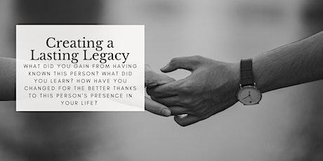 Creating a Lasting Legacy // What Do I Keep?  Waxing Half Moon Workshop Tickets