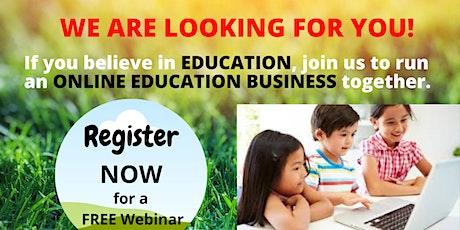 ONLINE EDUCATION OPPORTUNITY WEBINAR tickets