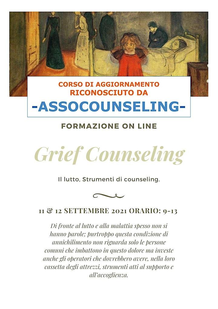 Immagine Grief counseling. Il lutto. Strumenti di counseling - ottava edizione