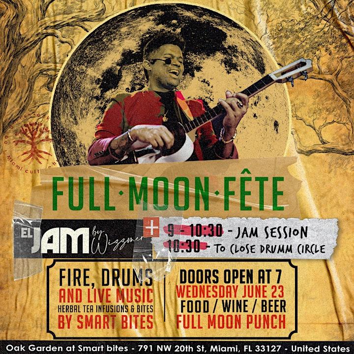 Full Moon Fete x EL Jam image