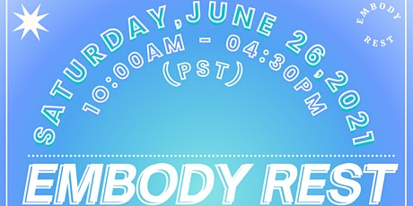 Embody Rest: An Online Retreat for Gender Expansive People of Color tickets