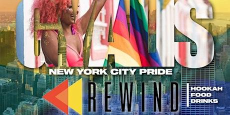 "Gyalis ""New York City Pride Rewind"" tickets"