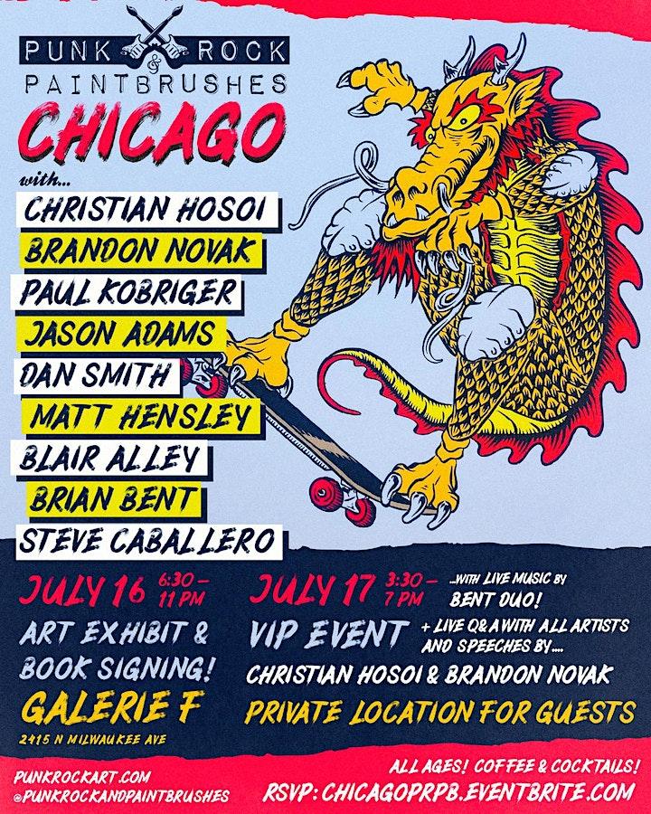 PUNK ROCK & PAINTBRUSHES CHICAGO!! image