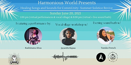 Healing Songs and Sounds for CommUnity - Summer Solstice Revive tickets
