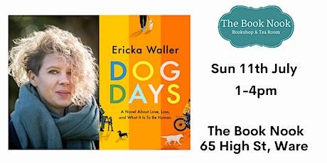 The Book Nook Meets - Ericka Waller (Dog Days) tickets