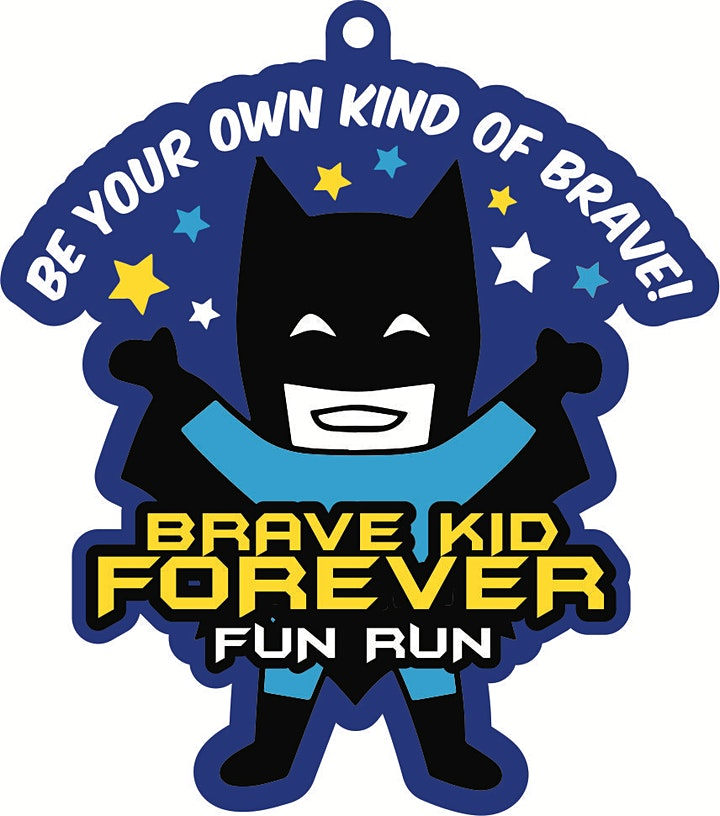 2021 Brave Kid Forever 1/2 M 1M 5K 10K -Participate from Home. Save $3 image