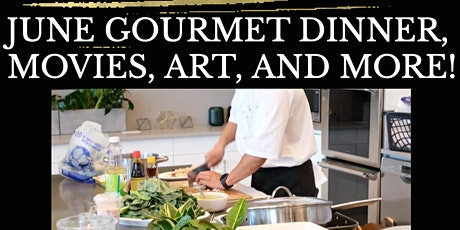 Dinner & Entertainment in Cupertino - Movies, Art, Wine, and More! tickets