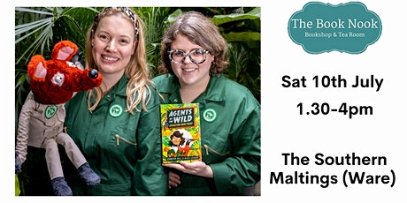 Agents of the Wild with Jennifer Bell and Alice Lickens : FREE kids event! tickets