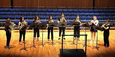 Brass on the Patio with Cor8 French horn ensemble tickets