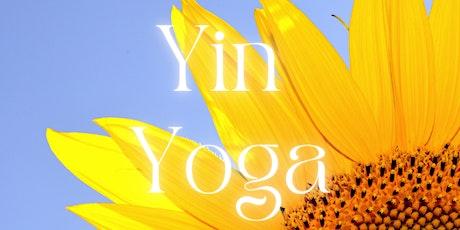 Yin Yoga - Livestream Sunday tickets
