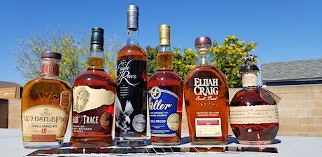 Eureka!'s Whiskey Club Barrel Picks  tasting with billets