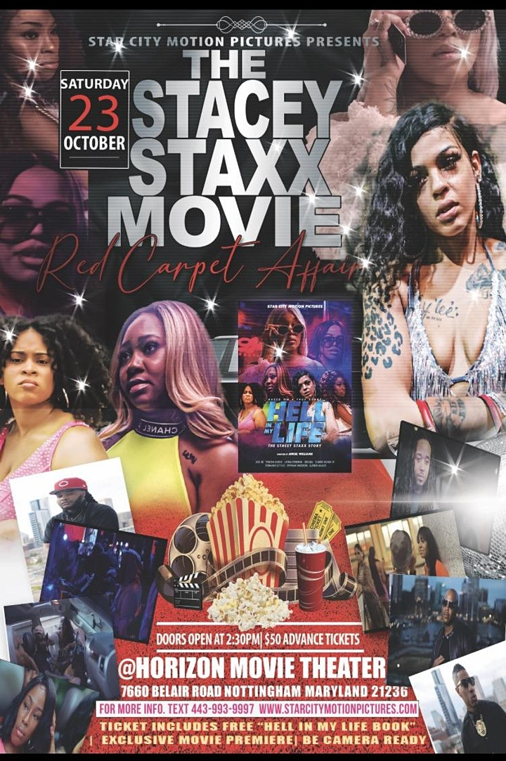The Stacey Staxx Red Carpet Movie Premiere image