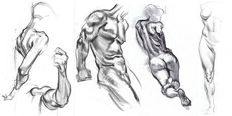 Karl Gnass Figure Drawing School: Active Anatomy, Form with Light & Tone tickets