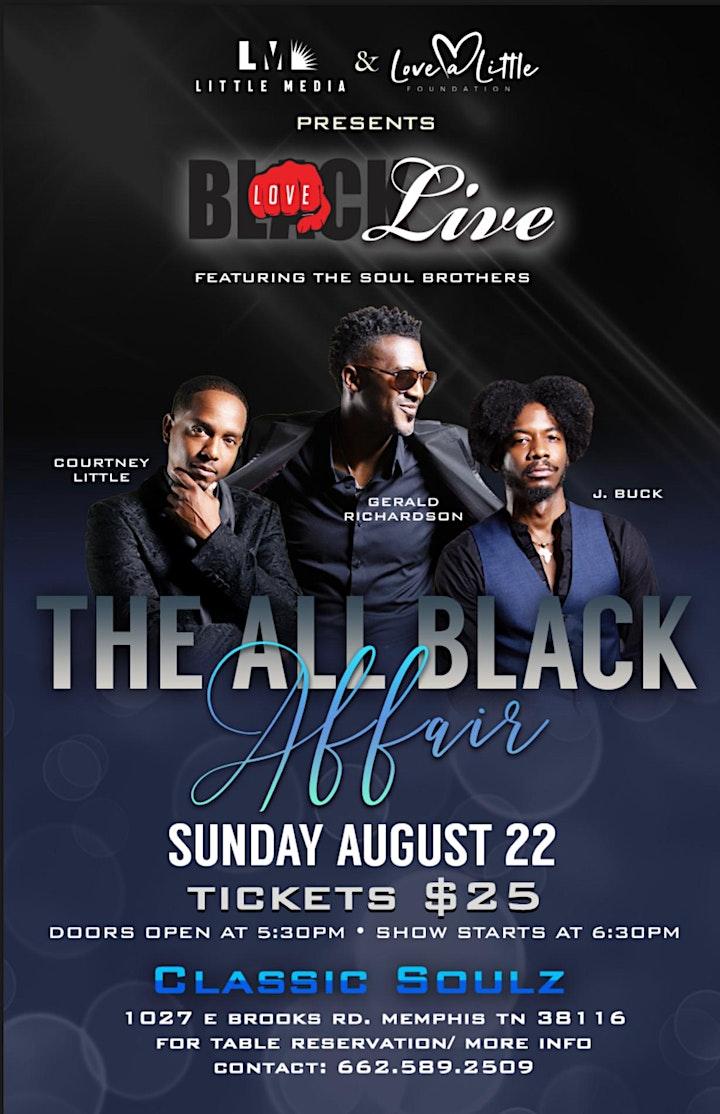 Black Love Live - The All Black Affair image