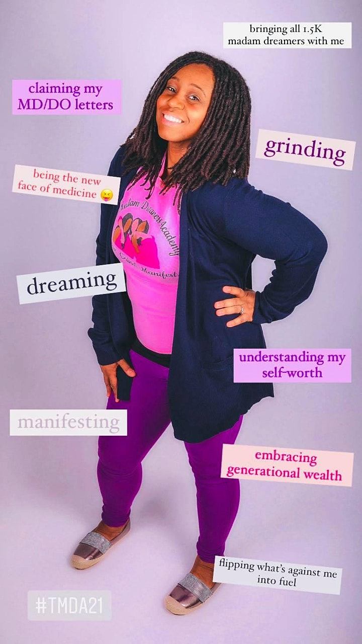 The Madam Dreamers Academy 2021 Conference: I AM The Solution image