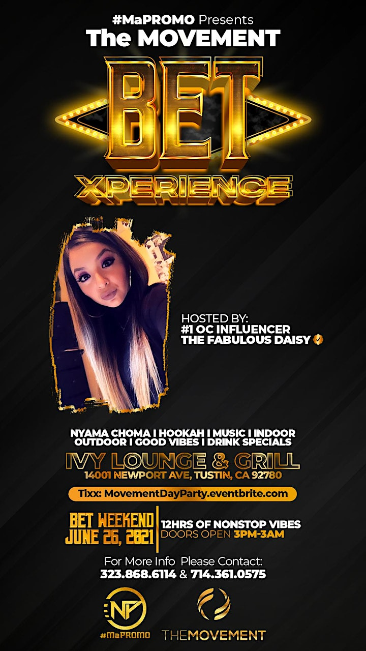 THE MOVEMENT - BET XPERIENCE image