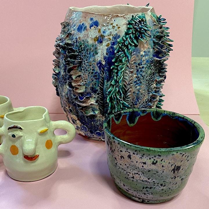 Drehen an der Töpferscheibe für Einsteiger -  Keramik-Workshop: Bild