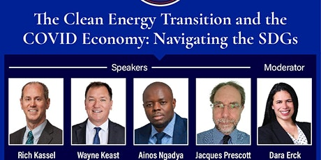 The Clean Energy Transition and the COVID Economy: Navigating the SDGs tickets