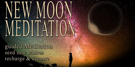 【New Moon Guided Medition with singing bowl sound bath】 tickets