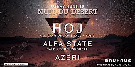 Nuit du Desert Presents: HOJ tickets