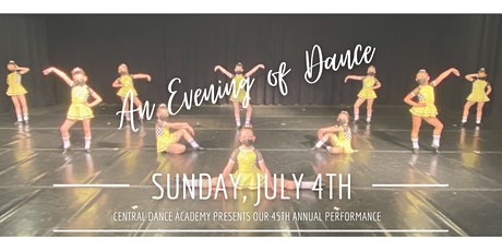 """45th Annual """"Evening of Dance"""" 