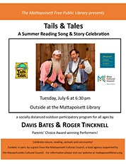 Outdoor Summer Concert with Davis Bates and Roger Tinknell tickets