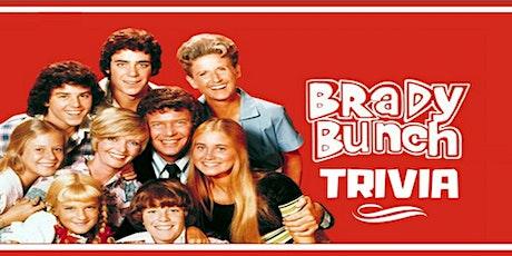 Brady Bunch Trivia Fundraiser(live host) via Zoom (EB) tickets