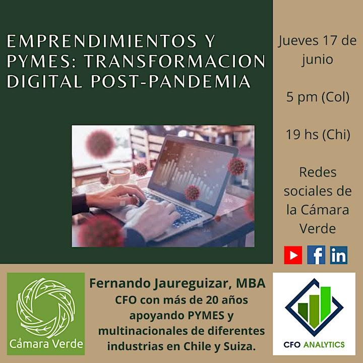 Emprendimientos y PYMES: Transformación Digital Post-Pandemia image