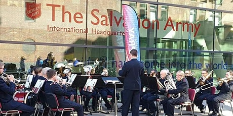 Brass on the Patio with Regent Hall Salvation Army Band tickets