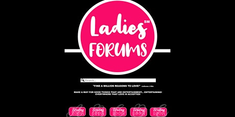 LADIES FORUMS: PANDEMIC (OCTOBER ) 2021 tickets