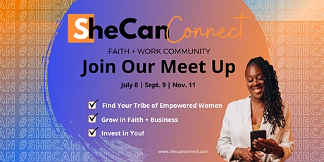 SheCan Connect Networking Meet Up tickets